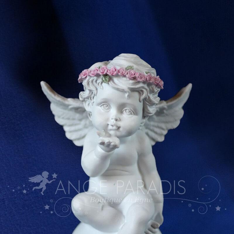 statuette ange gardien